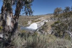 'Let the rivers flow' - Annual dam release - Jindabyne, NSW